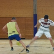 Training bei den Kickers