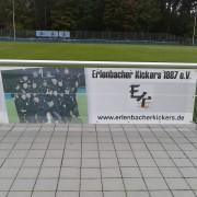 Kickers unterstützen Kunstrasen – Bandenprojekt des SV Erlenbach