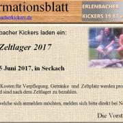EK Zeltlager 2017